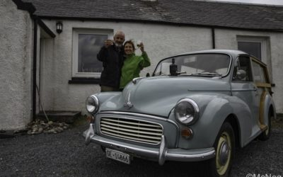 France to Islay by Morris Traveller: Scotland